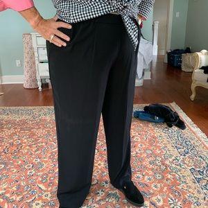 Black palazzo style pants
